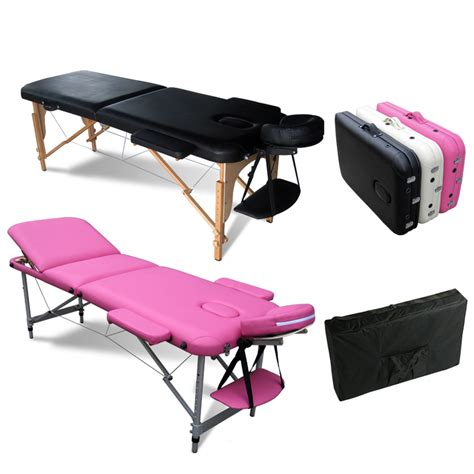Portable Folding Massage Table Tattoo Therapy Beauty Salon