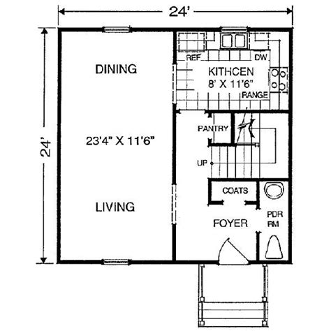 24x24 floor plans pin by betty mceachern on small house plans pinterest