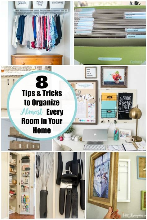 How To Organize Your Home In 5 Easy Steps | 8 tips and tricks for organizing your home yesterday on