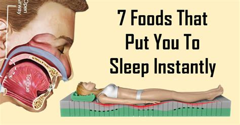 7 Foods To Avoid For A Nights Sleep by 7 Foods That Put You To Sleep Instantly