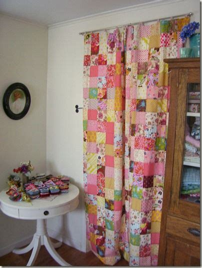 Patchwork Quilt Curtains - 25 best ideas about patchwork curtains on