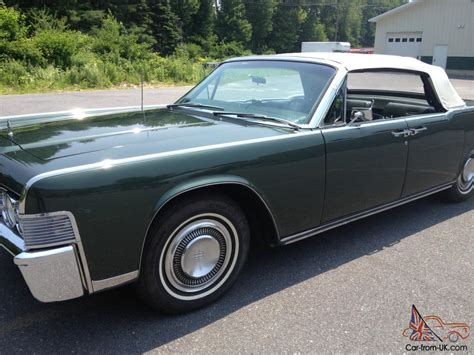 lincoln continental 1965 for sale 1965 lincoln continental convertible