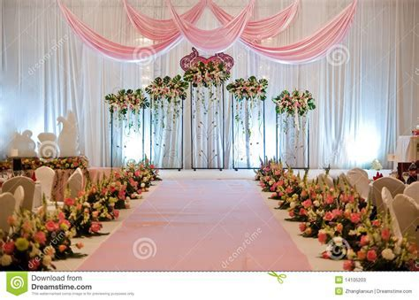 Wedding Stage stock image. Image of flora, indian, culture