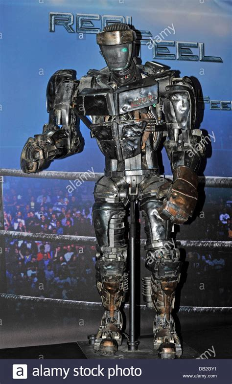 film robot atom boxing robot atom is presented at a photocall for the