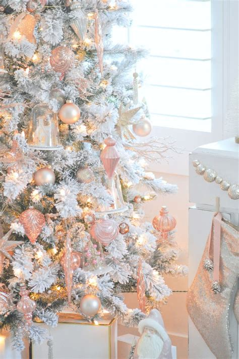 rose gold christmas lights best 25 xmas tree ideas on pinterest xmas trees xmas