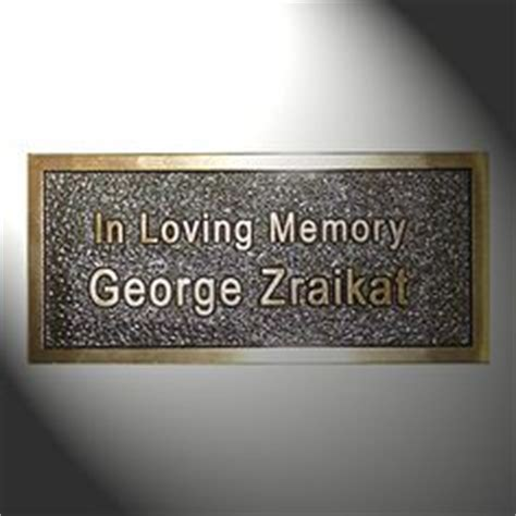 brass plaques for benches 1000 images about feca memorial bench project on