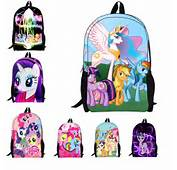 New Fashion Cartoon Backpacks For Teenagers Girls My Little Pony