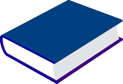 what color is blue books vector gratis libro azul cerrado la literatura