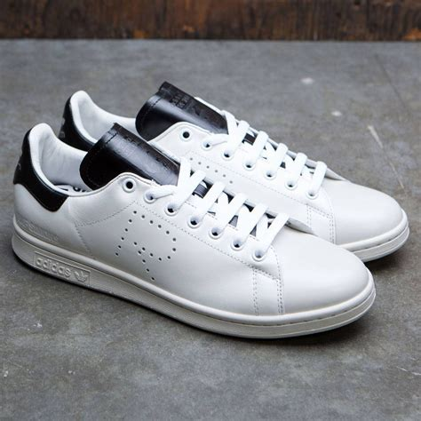 Raf Simons Shoes Black And White by Adidas X Raf Simons Stan Smith White Optic White Black Talcs