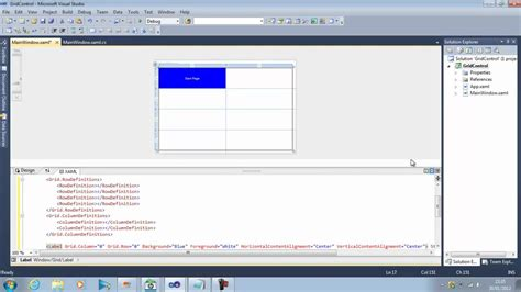 xaml default layout wpf layout gridcontrol youtube