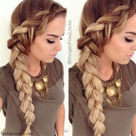hairstyles braids to the side dutch braid hairstyle tutorial fab fashion fix