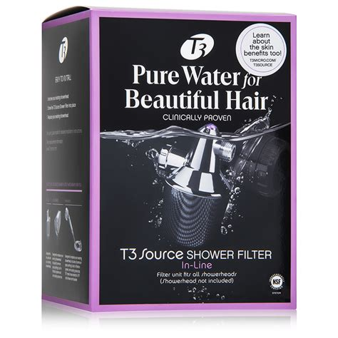 T3 Shower Filter by T3 Source Shower Filter In Line Dermstore