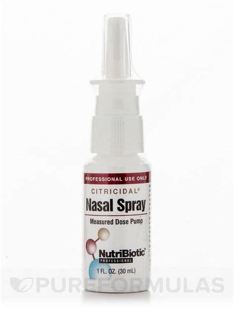Nasalin Spray citricidal nasal spray 1 fl oz 30 ml