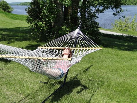 Cotton Hammocks For Sale Choosing The Cotton Rope Hammock With 3 Beam Stand 187 Buy