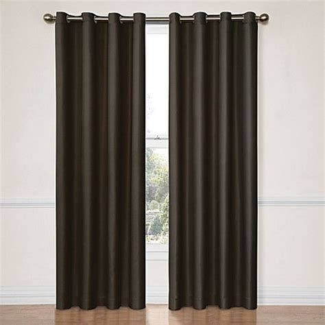 insola curtains insola darcy blackout window curtain panels bed bath