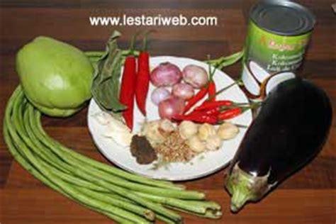 Cabe Besar beverage recipe vegetables stew reciperesep sayur lodeh delisouz