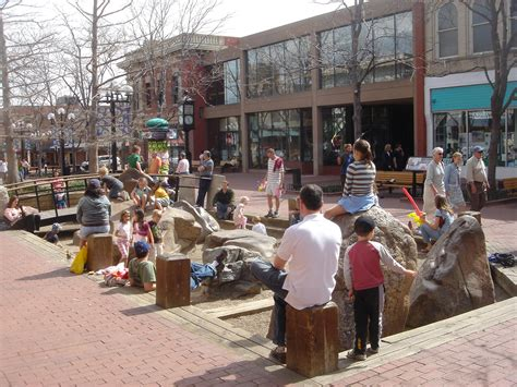 elements design group boulder re streets pearl street pedestrian mall