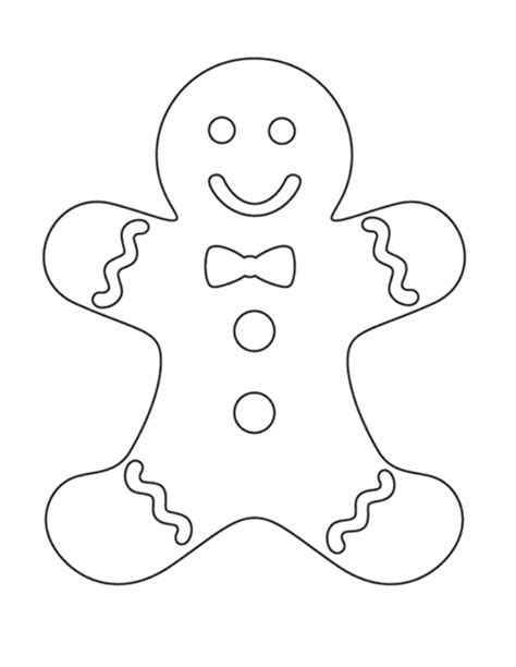 kids gingerbread man coloring pages christmas christmas