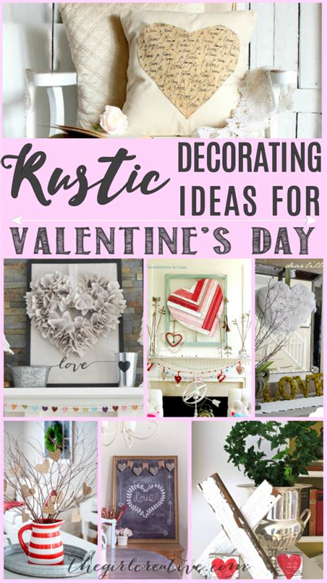 creative valentines ideas for rustic decorating ideas for s day the