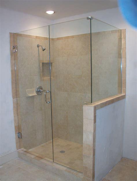Frameless Shower Door Installation Cost Simple Frameless Shower Door Price Range Combine Simple Recessed Lighting For Small Bathroom
