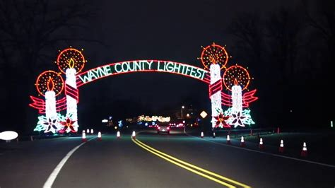 wayne county lights wayne county lightfest 2013 a complete guide for your