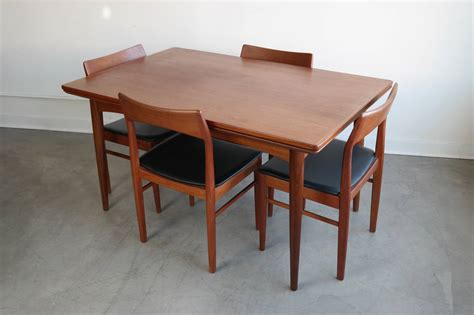 danish modern dining room set danish modern dining set in teak for sale at 1stdibs