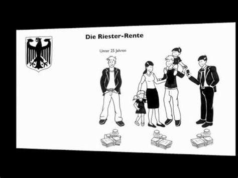 riester rente rechner youtube