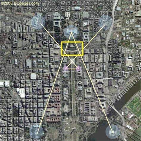 washington dc pyramid map the illuminati washington dc s quot square and compass
