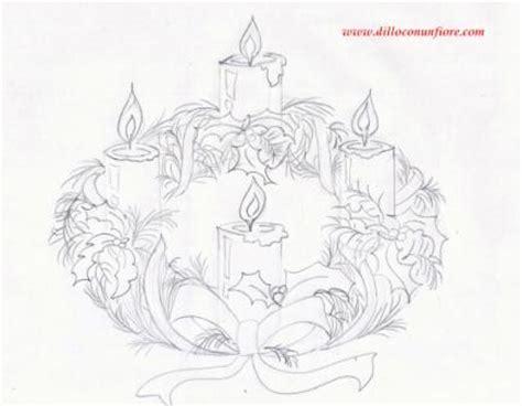 colore delle candele dell avvento corona dell avvento natale da colorare 327k