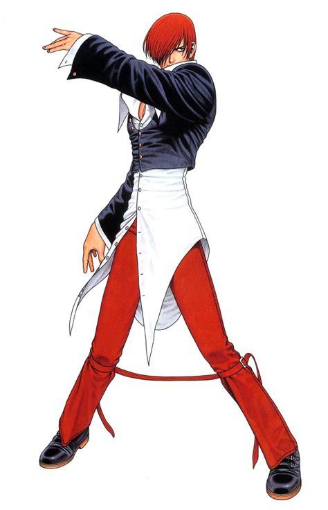 imagenes animadas kof iori yagami king of fighters