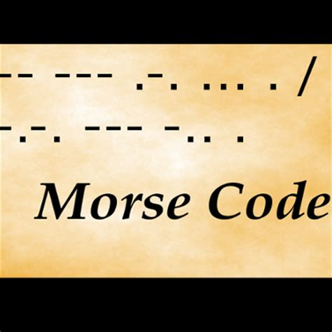 level 6 morse code memrise