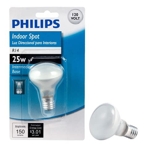 Lu Philips 25 Watt philips 25 watt incandescent r14 mini reflector light bulb
