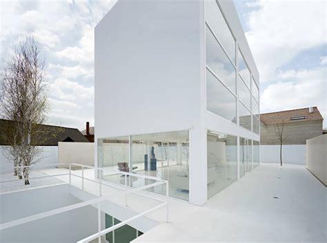 white modern architecture white modern house in spain modern design by