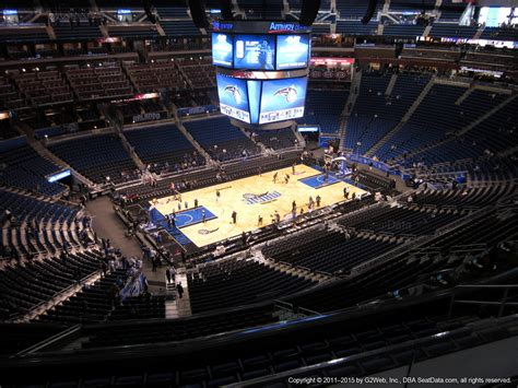 section 212 a 5 a orlando magic amway center section 212 rateyourseats com