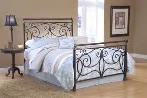 King Size Bed Metal Hillsdale Brady King Size Metal Bed 1643hkr