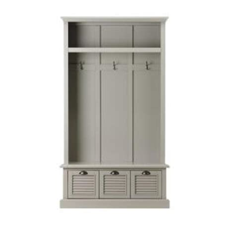 home decorators collection gray furniture the home depot home decorators collection shutter grey hall tree