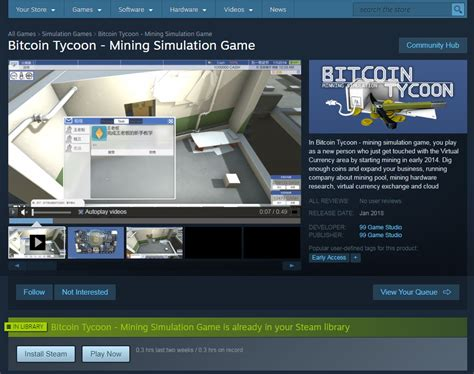 bitcoin store bitcoin tycoon mining simulation game windows indie db
