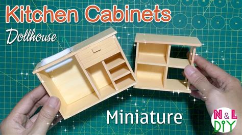 diy miniature kitchen cabinets    kitchen