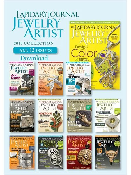jewelry journal lapidary journal jewelry artist 2010 collection