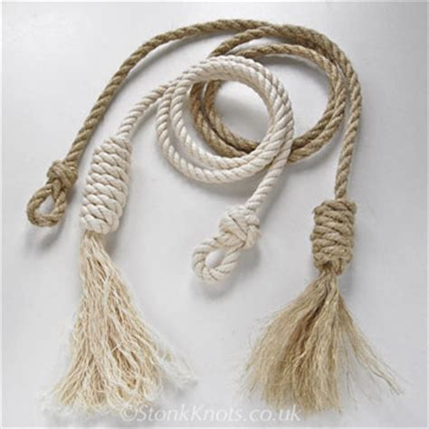 Decorative Rope Knots by Stonk Knots Design In Rope Light Pulls