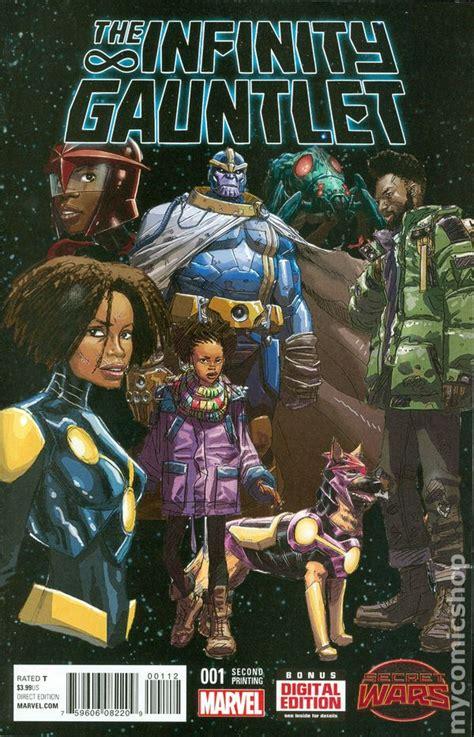 infinity gauntlet series infinity gauntlet comic books issue 1