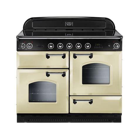 induction or electric range rangemaster clas110eicr c classic 110 electric induction range cooker with chrome trim