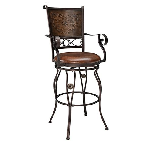 Powell Big And Bar Stools by Powell Big Bar Stool With Arms Boscov S