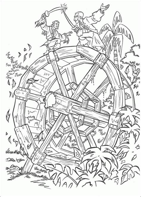 fun coloring pages pirates of the caribbean coloring pages