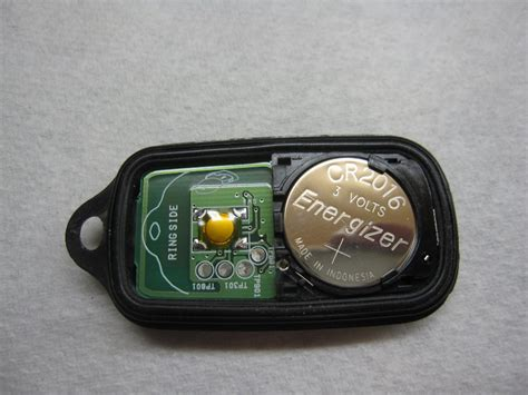 toyota key fob battery replacement guide 111