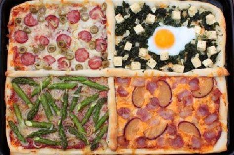 gusti pizza fatta in casa ricetta pizza quattro gusti menupizza it