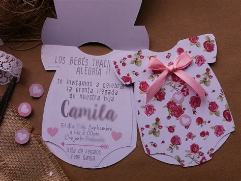 Baby Shower Shower by Invitaciones Para Baby Shower 5 000 En Mercado Libre
