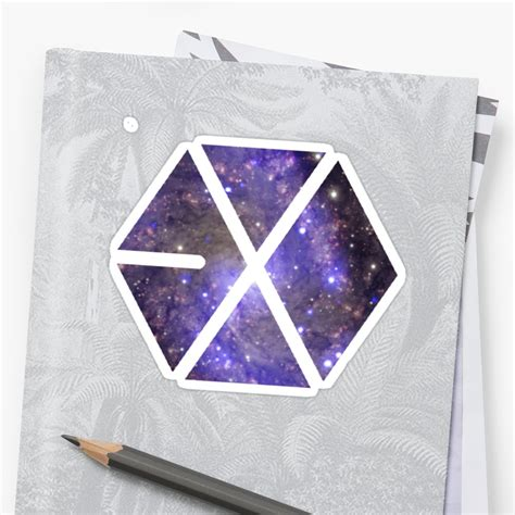 quot exo logo pattern quot laptop sleeves by skeletonvenus redbubble quot exo logo quot stickers by beforethedawn redbubble