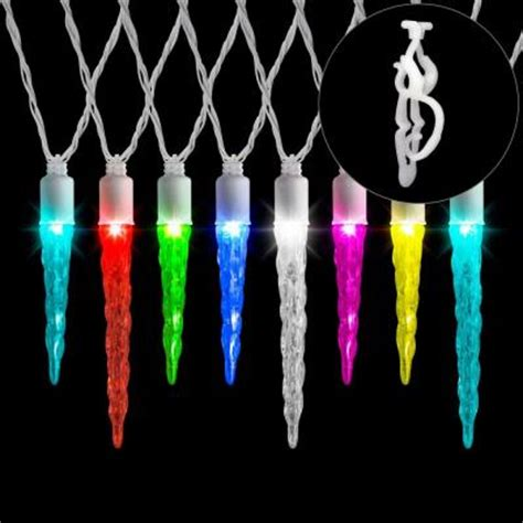 lightshow multi lights 12 color changing effects icicle