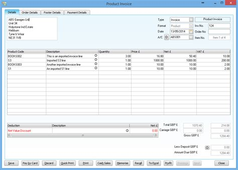 create invoice layout in sage import customer invoices from excel how to enter a